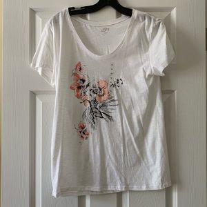 Loft floral T-shirt